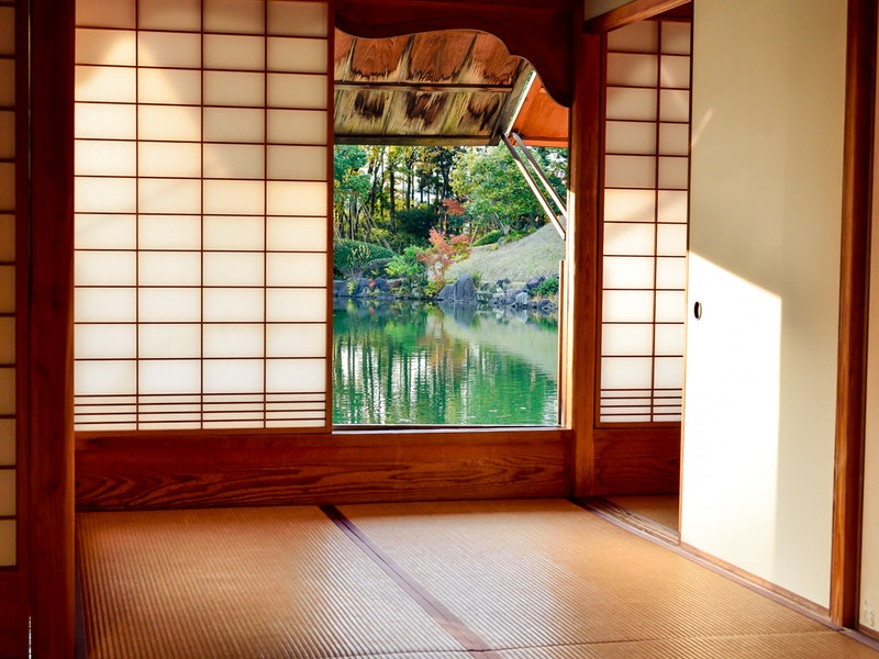 Japanese style interiors