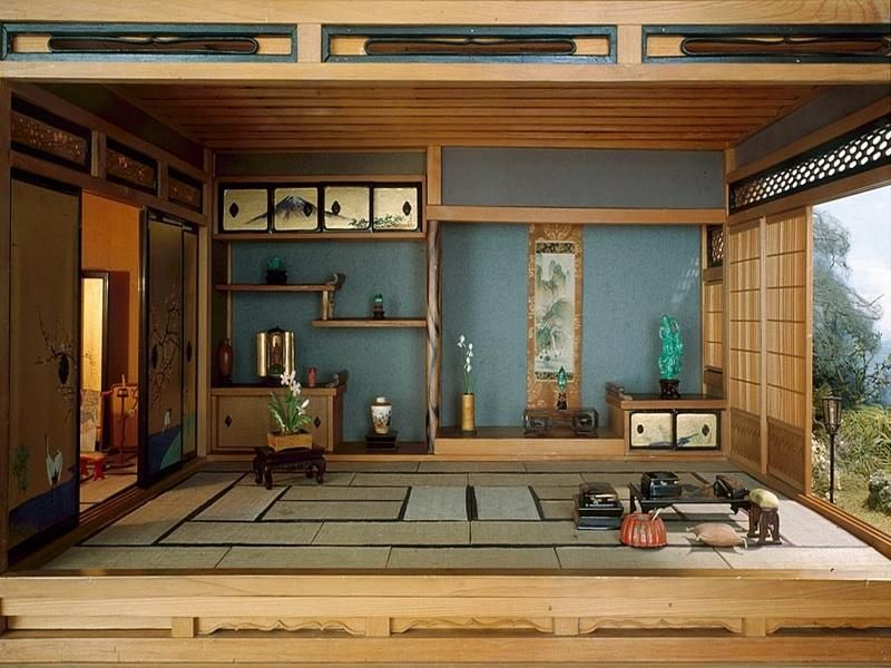 How to arrange the interior in Japanese style?